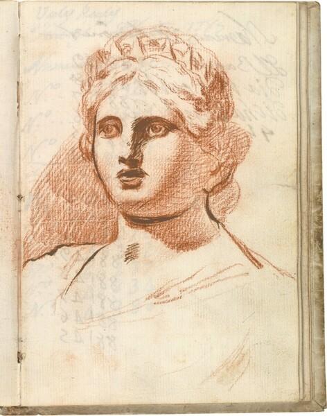 Cabeza femenina clásica (Juno)