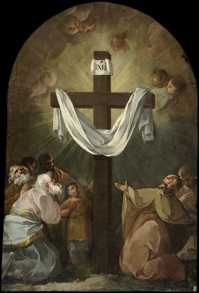 Worshipers at the Foot of a Cross (Devotos a los pies de una cruz)