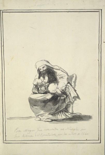 Esta mujer fue retratada en Nápoles por José Ribera o el Españoleto, por los años 1640