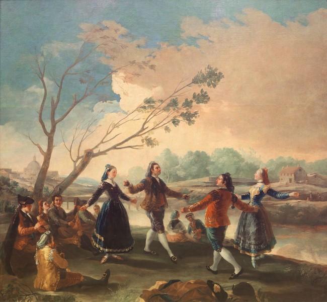 El baile a orillas de Manzanares
