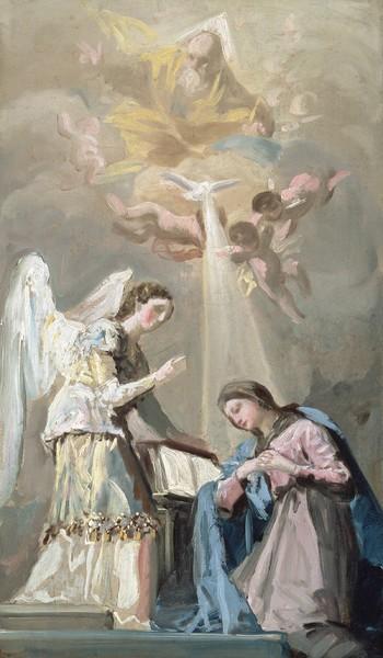 Anunciación (boceto)