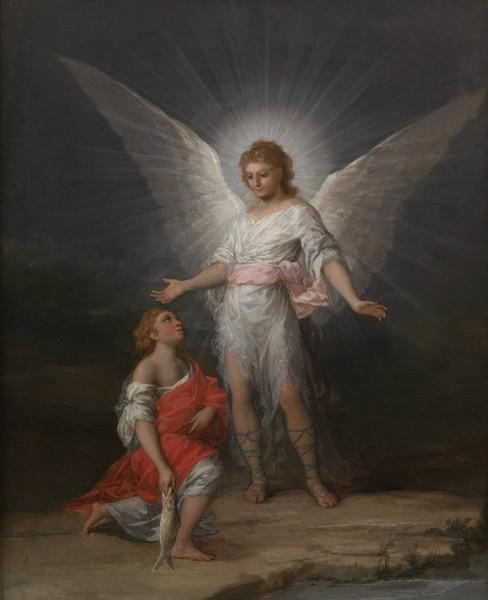 Tobías y el arcángel Rafael