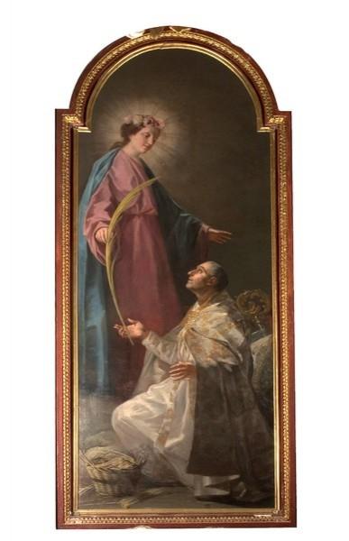 Aparición de la Virgen a San Julián