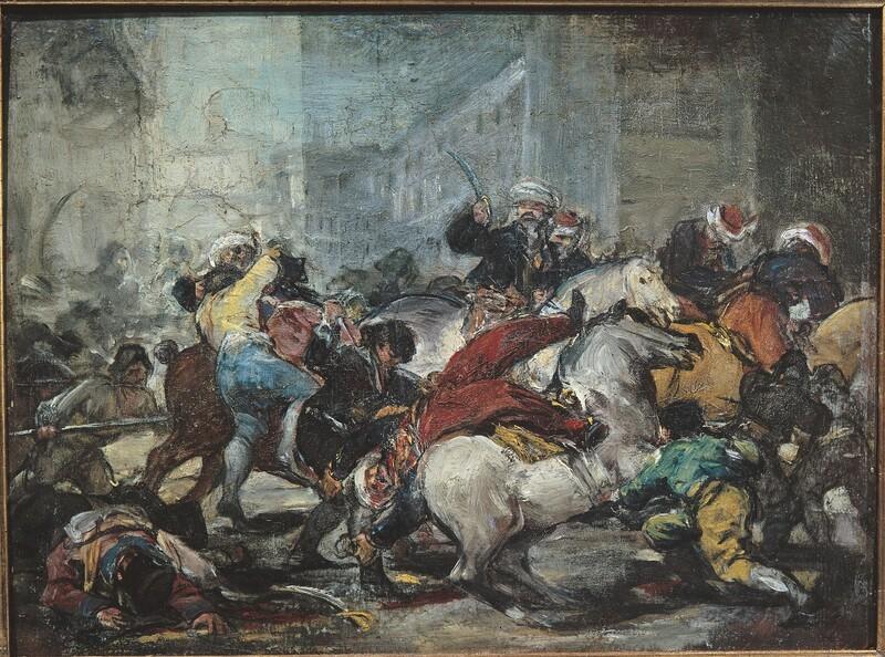 Second of May 1808 (El dos de mayo de 1808) (sketch 1)