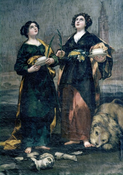 Saints Justa and Rufina (Santas Justa y Rufina)