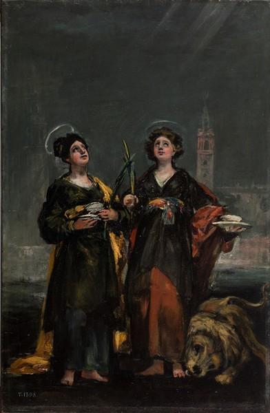 Santas Justa y Rufina (boceto)