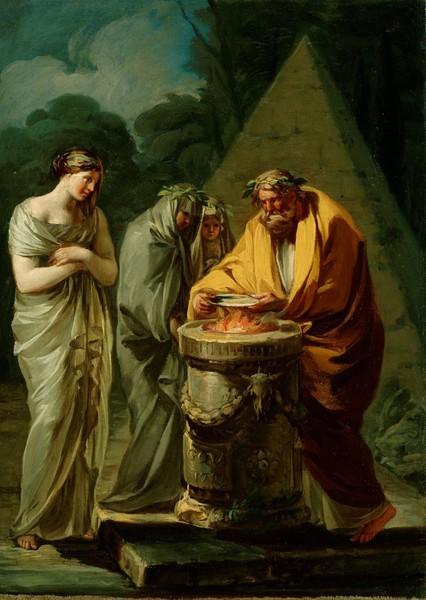 Sacrificio a Vesta