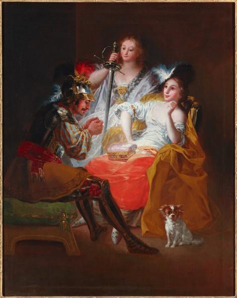 Hércules y Ónfala