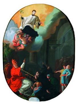 La consagración de San Luis Gonzaga como Patrono de la Juventud