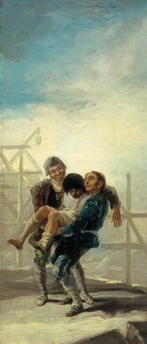 El albañil borracho (boceto)