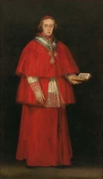 El cardenal Luis María de Borbón