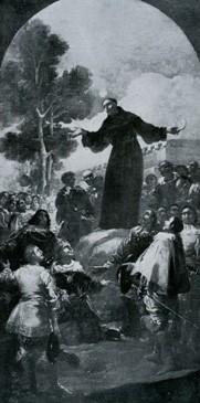 Predicación de San Bernardino de Siena (boceto 2)