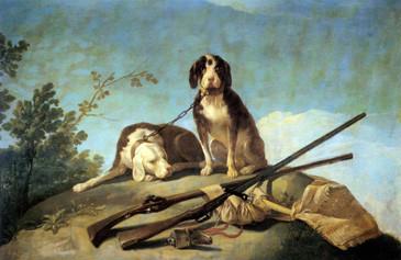 Perros en traílla