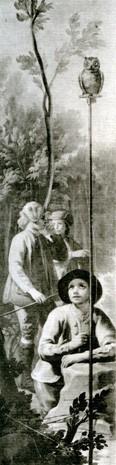 Boys Hunting with Owl (Muchachos cazando con mochuelo)