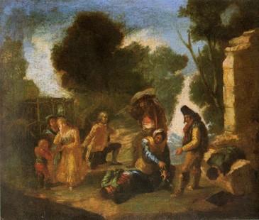El atraco (boceto)