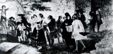 La boda (boceto)