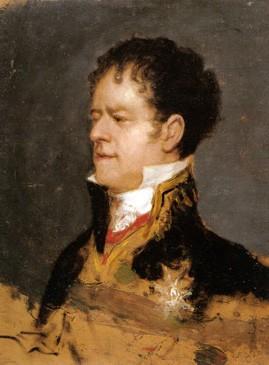 El duque de San Carlos (boceto)