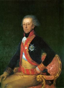 El general Antonio Ricardos y Carrillo de Albornoz