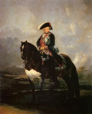 Carlos IV a caballo