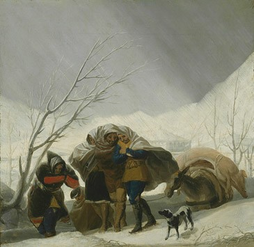 El invierno (boceto)