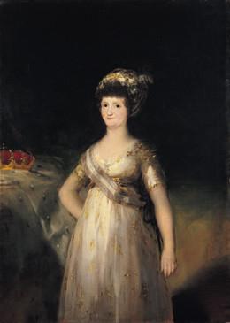La Reina María Luisa de Parma