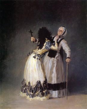 """La duquesa de Alba y """"la Beata"""""""