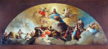 Regina Martyrum (boceto de la mitad principal)