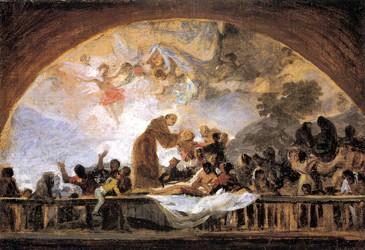 Milagro de San Antonio de Padua (boceto 1)