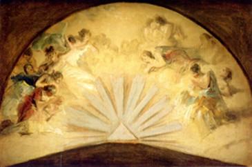 Adoración de la Trinidad (boceto)