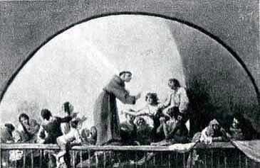 Milagro de San Antonio de Padua (boceto 3)