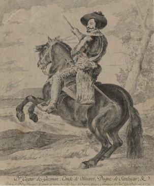 Don Gaspar de Guzman, conde de Olivares, duque de Sanlucar