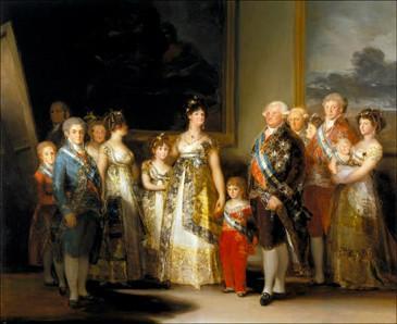 The Family of Charles IV (La familia de Carlos IV)