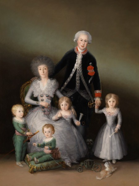 The Family of the Duke of Osuna (La familia del Duque de Osuna)
