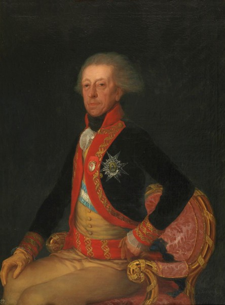 El general Antonio Ricardos y Carrillo de Albornoz