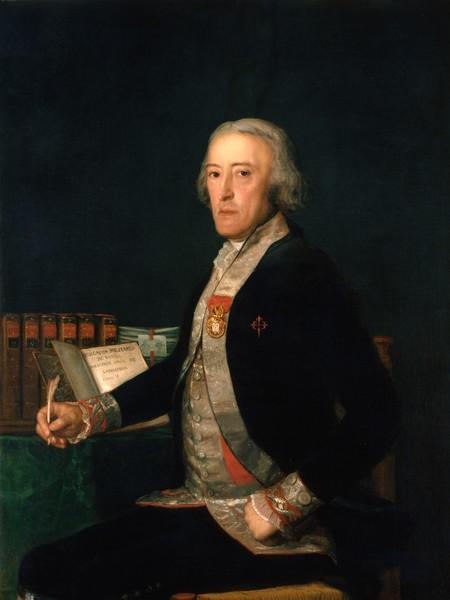 El mariscal de campo Félix Colón de Larreátegui