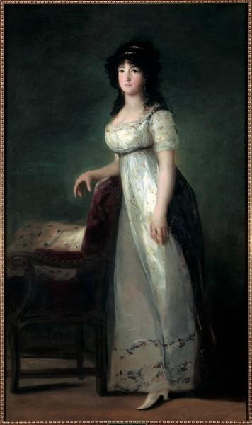 María Gabriela Palafox y Portocarrero, marquesa de Lazán