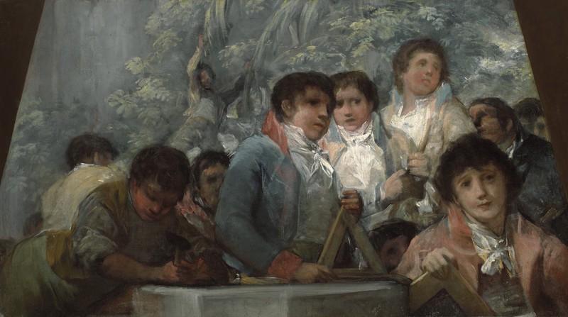 Estudiantes del Instituto Pestalozzi (fragmento)