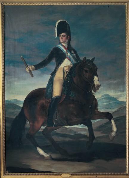 Ferdinand VII on Horseback (Fernando VII a caballo)