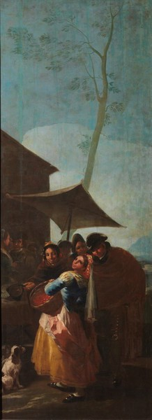 The Haw Seller (La acerolera)