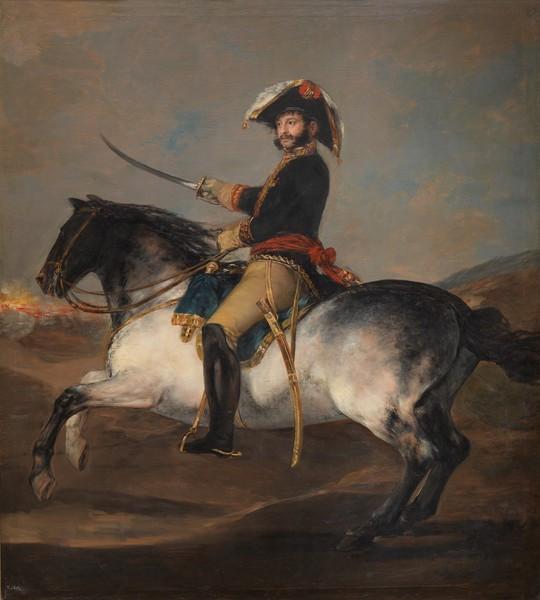 General Palafox on Horseback (El general Palafox a caballo)