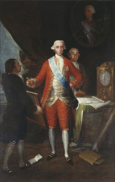 The Count of Floridablanca (El conde de Floridablanca)