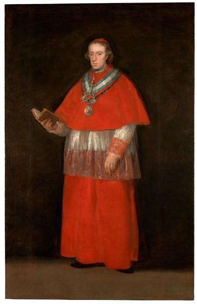 El cardenal Luis María de Borbón y Vallabriga