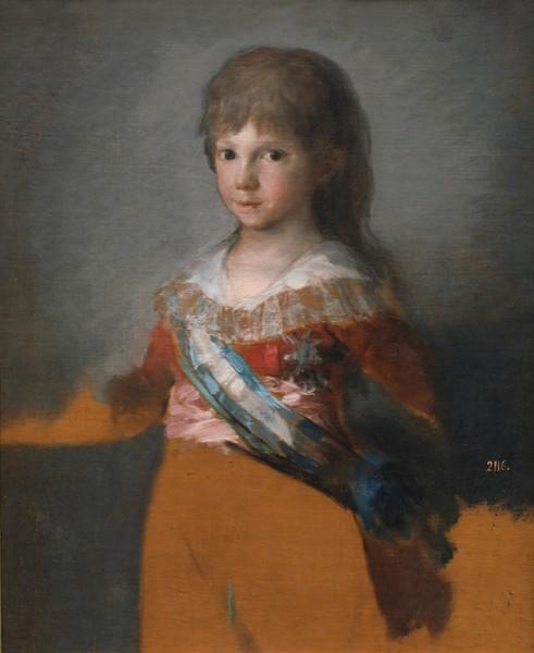 The Infante Francisco de Paula (Francisco de Paula Antonio de Borbón y Borbón-Parma, infante de España)