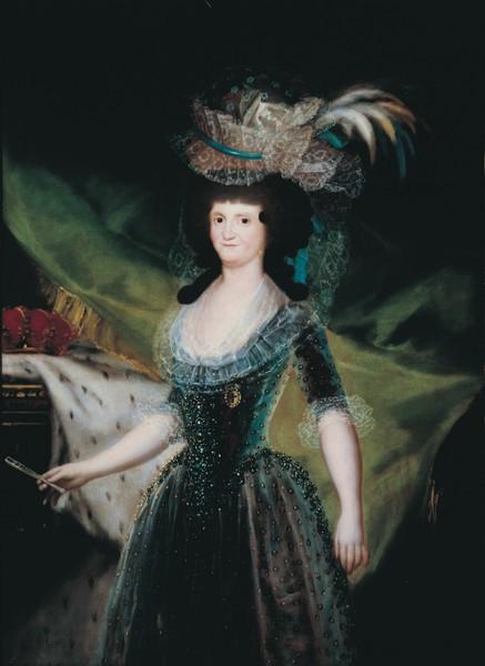 La reina María Luisa