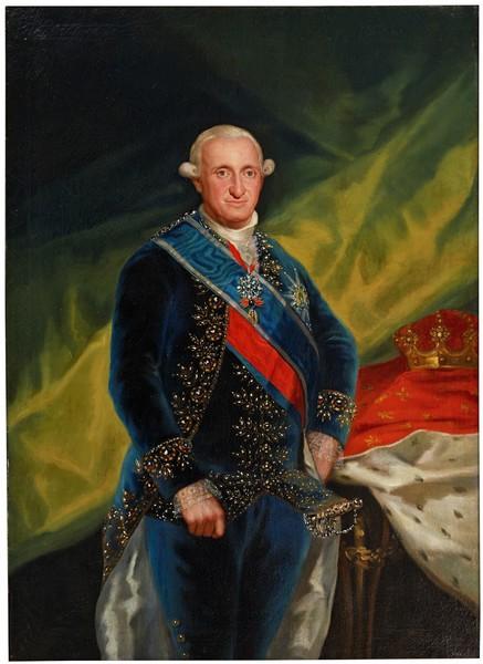 El rey Carlos IV