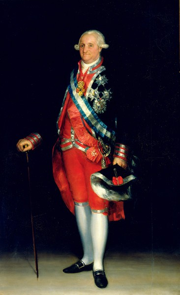 Charles IV in Uniform of Colonel of the Lifeguards (Carlos IV con uniforme de coronel de los Guardias de Corps)