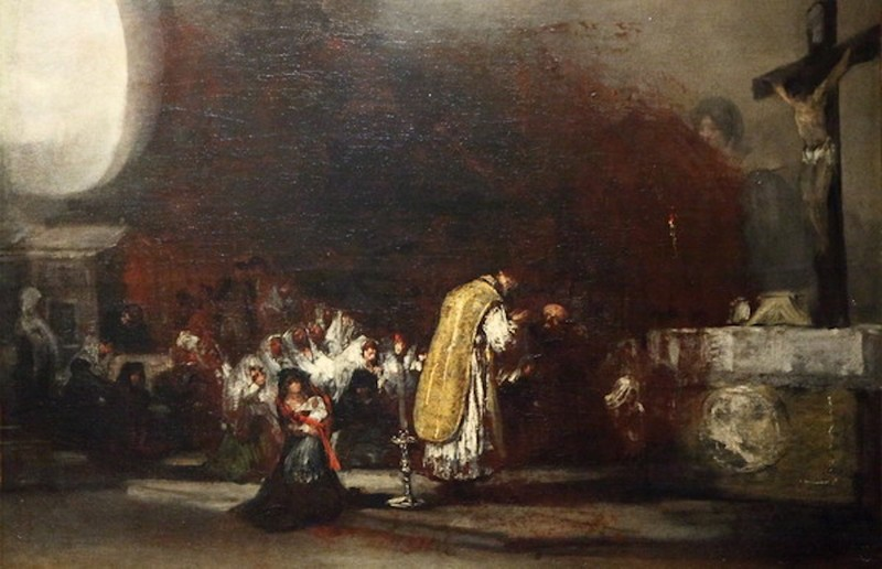La misa de parida