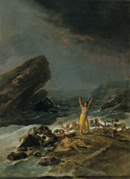 Un naufragio
