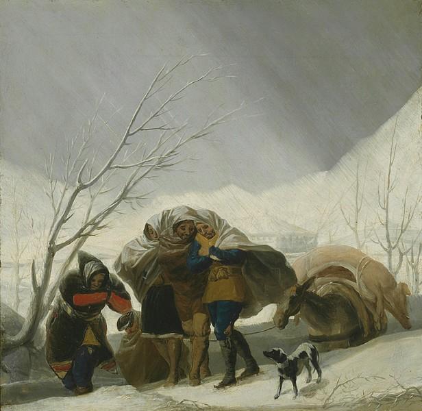 Winter (El invierno) (sketch)