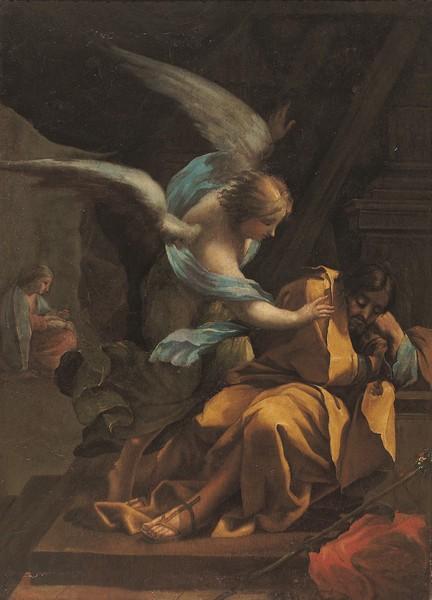 The Dream of Saint Joseph (El sueño de San José)